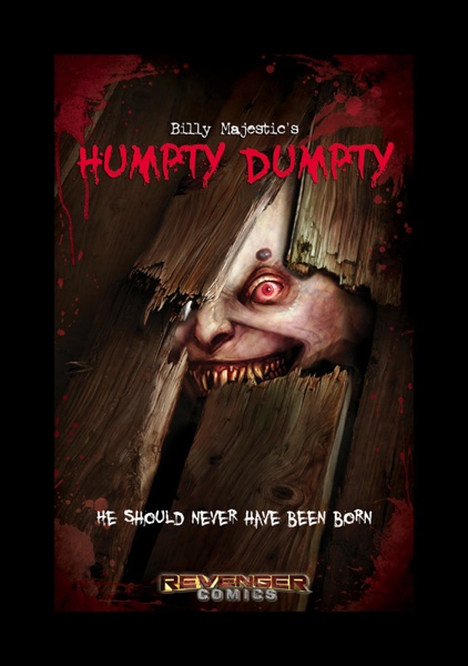 Billy Majestic's Humpty Dumpty.  Cover Art.