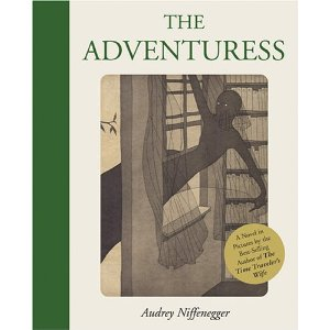 The Adventuress.  Book Cover.