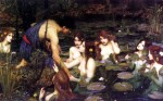 JW Waterhouse – Hylas and the Nymphs(1896)